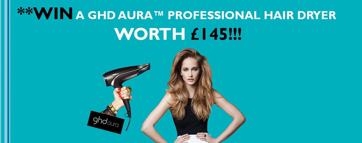 **WIN** ghd aura™ Professional Hairdryer