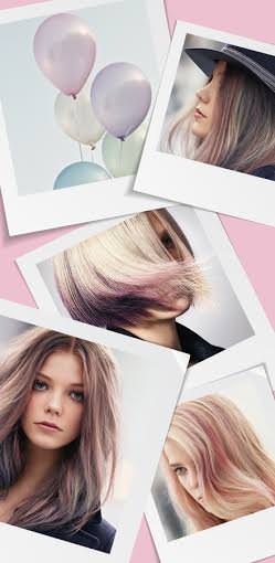 Pastel Hair Colours – Instamatic by Color Touch