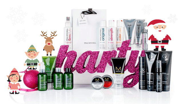 Paul Mitchell christmas gifts banner