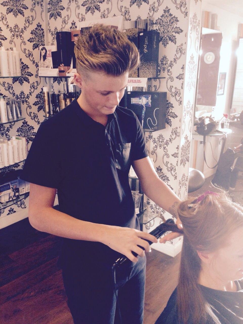 Meet Connor Our Fab Graduate Hair Stylist