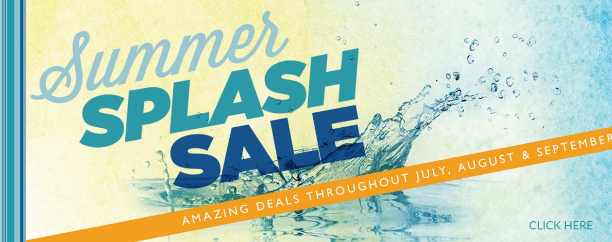 Summer Splash SALE!!!
