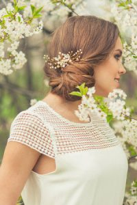 Wedding hair ideas for brides & grooms at Darren Michael hairdressing in Shaw