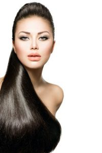 sleek hair at Darren Michael hair salon in Oldham