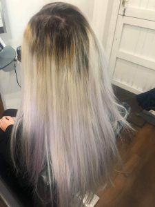 hair colour transformations at darren michael hair salon in oldham