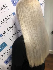 hair colour transformations at darren michael hair salon in oldham