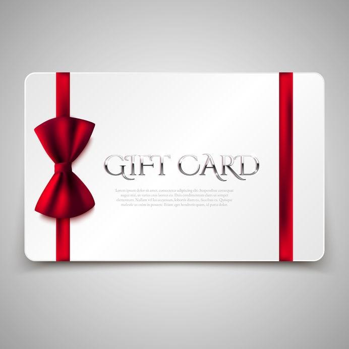 Gift Cards at darren michael hair salon in oldham