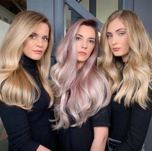 PASTEL HAIR COLOURS at darren michael hair salon oldham