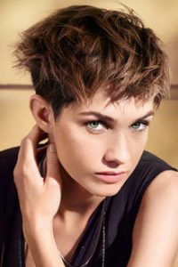 short hairstyles and ideas at darren micheal hair salon in rochdale