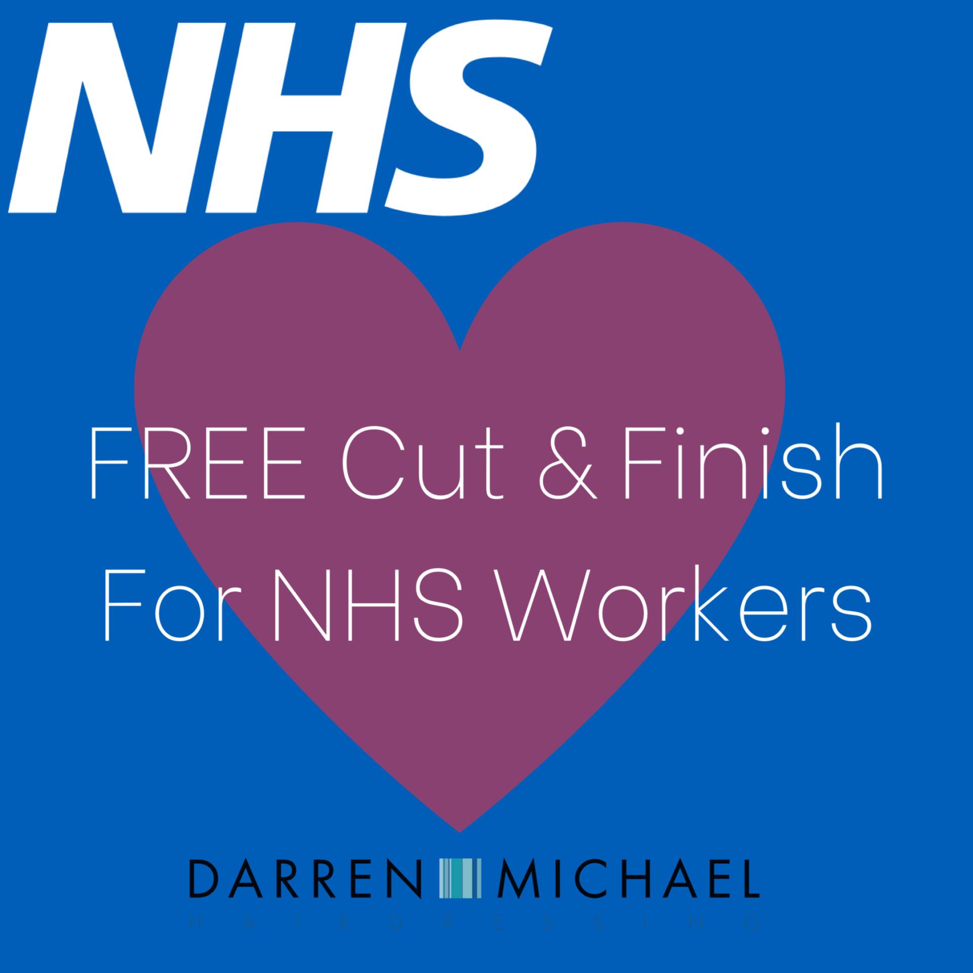 Free Cut & Style – NHS