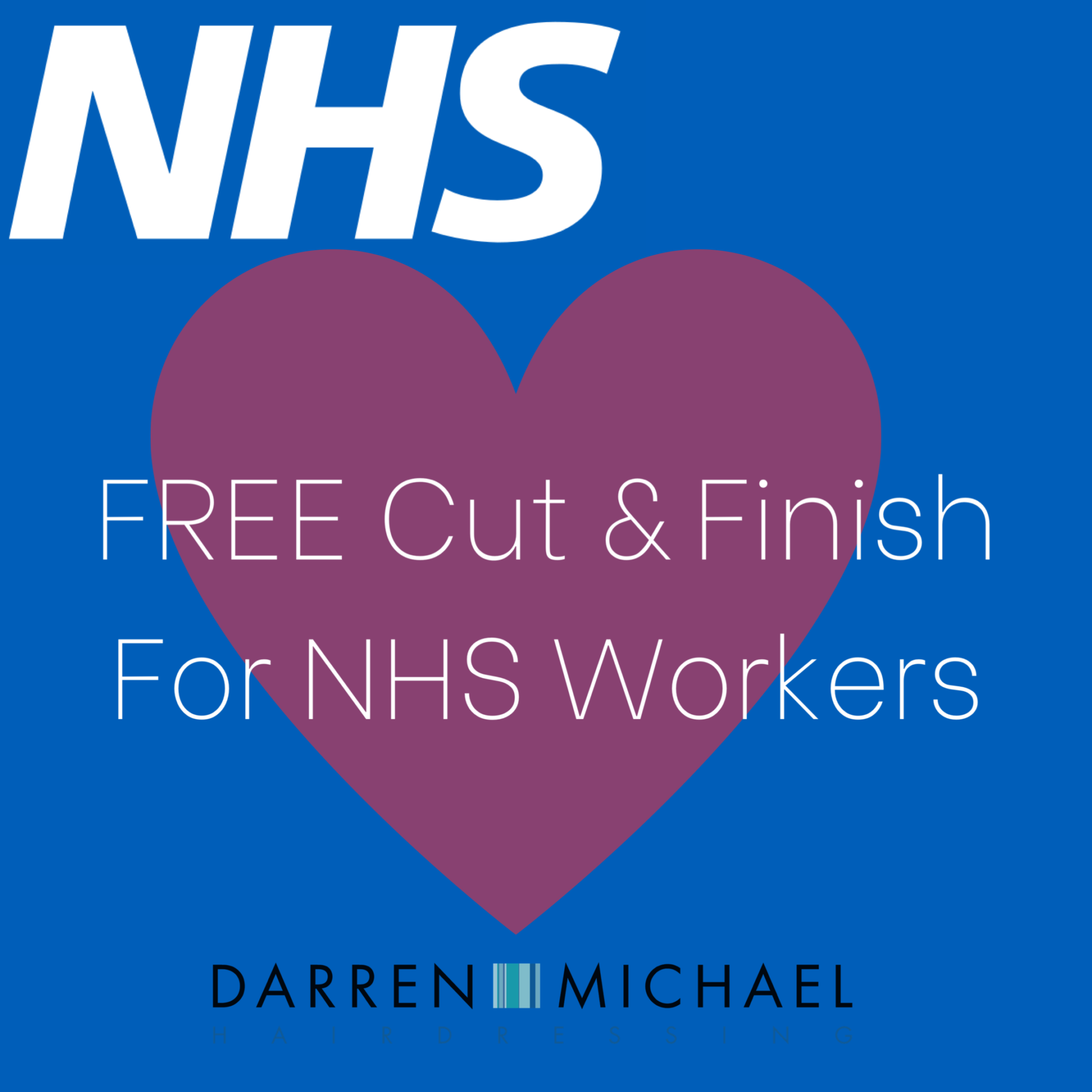 Free Cut & Style – NHS