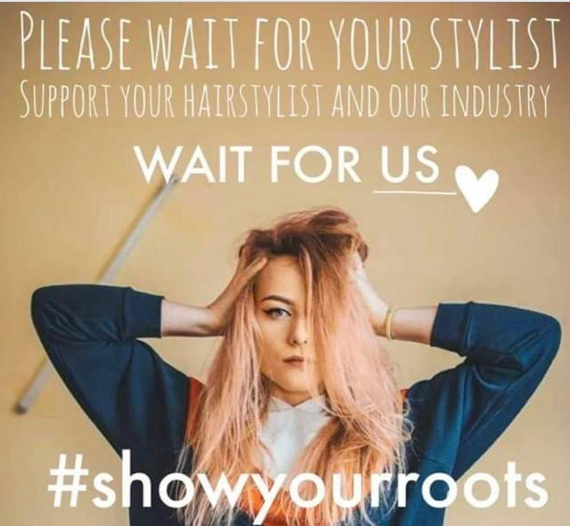 Waiting to have your hair done? We're missing you x