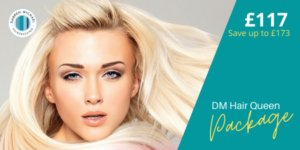 Great Hair at Darren Michael hairdressing with our dm hair queen package