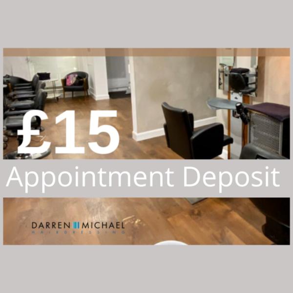 £15 Booking Deposit