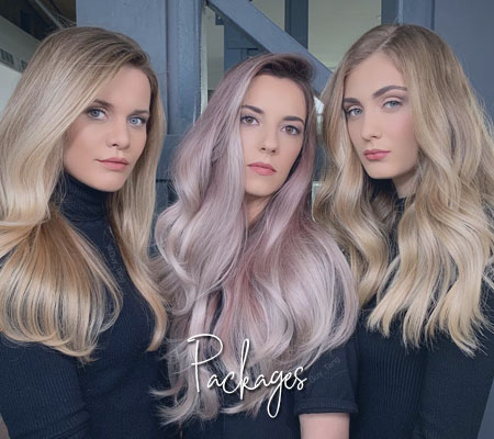 Discounted Hairdressing Packages at Darren Michael hairdressers Shaw & Oldham.
