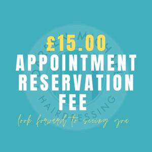 £15 Reservation Fee
