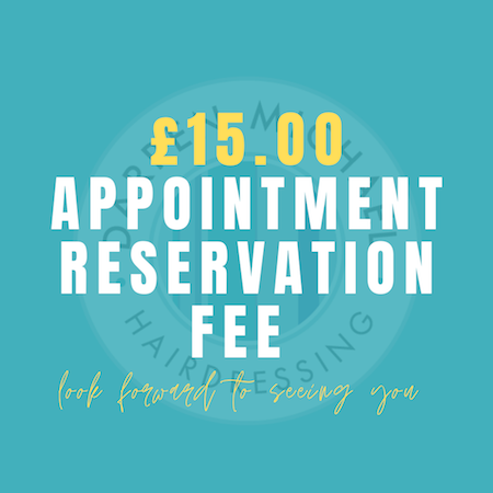 £15 Appointment Reservation Fee