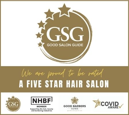 Good Salon Guide five star rated Darren Michael Hair Salon in Oldham, Greater Manchester.